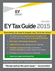 File taxes with confidence and maximize deductions with this industry-leading guide EY Tax Guide 2015 is your solution for a streamlined filing process. Authoritative and easy to follow, this trusted guide is designed to be accessible for ind...