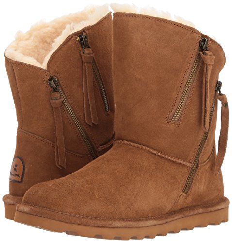 Pictures of BEARPAW Women's Mimi Fashion Boot 1901W Chestnut Distressed 4