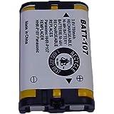 Panasonic HHR-P107 Cordless Phone Battery 3.6 Volt, Ni-MH 700mAh - Replacement For PANASONIC HHR-P107 Cordless Phone Battery