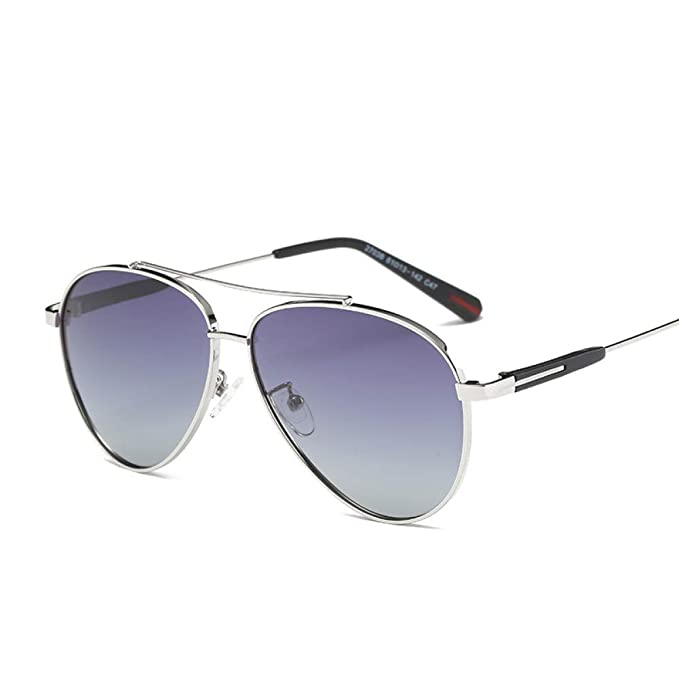 Amazon.com : YLNJYJ Moda Piloto Hombres Gafas De Sol ...