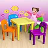Kid Table And Chair Play Set Toddler Child Toys Activity Furniture In-Outdoor