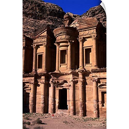 CANVAS ON DEMAND Wall Peel Wall Art Print Entitled Al Deir or The Monastery in Petra ()