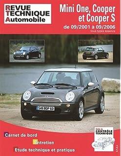 Revue technique Mini One, Cooper et Cooper S de 09/2001 a 09/