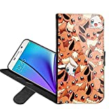 Pikachu Pokemon Eevee Evolutions Manga for Samsung Galaxy S6 Edge PU Leather Folio Flip Wallet Case Cover with ID Credit Card Holder and Kickstand + Thewart_Eight® Stylus Pen (#036)