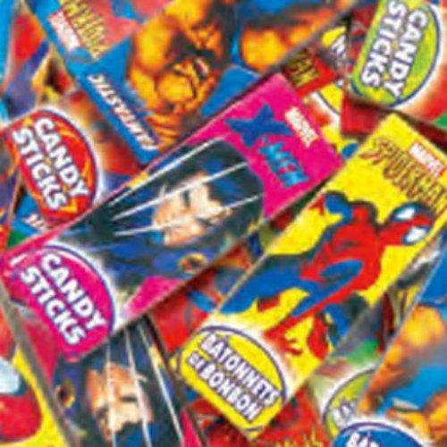 Marvel Super Heroes Candy Sticks 240 Count