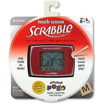 Amazon.com: Pogo Scrabble visualización táctil: Toys & Games