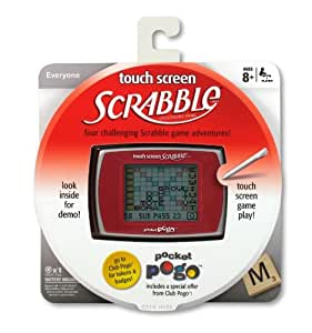 POGO Scrabble Touch Screen