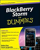 BlackBerry Storm For Dummies Front Cover