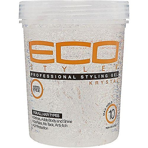 Ecoco Eco Styler Krystal Styling Gel, 32 Ounce (Pack of ()