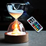ZAMTAC Novelty Hourglass Night Led Light Marc Newson Little Spheres Nanoballs Gold Ball Sandglass zandlo Decoration lamp abajur luminar - (Color: Gold Balls)