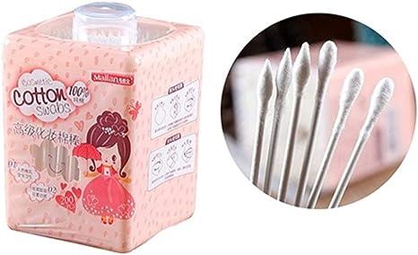 Lot Kosmetische Sch/önheits Tupfer Ohr Reinigen Schmuck Spitz Wattest/äbchen Frauen Gesundheit Make Up Q-Tips Wattest/äbchen YUELANG 200pcs