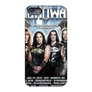 AshleySimms Iphone 6plus Anti-Scratch Hard Cell-phone Case Support Personal Customs High Resolution Manowar Band Series [Axs16485nTrx]