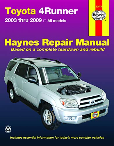 (Toyota 4Runner, '03-'09)