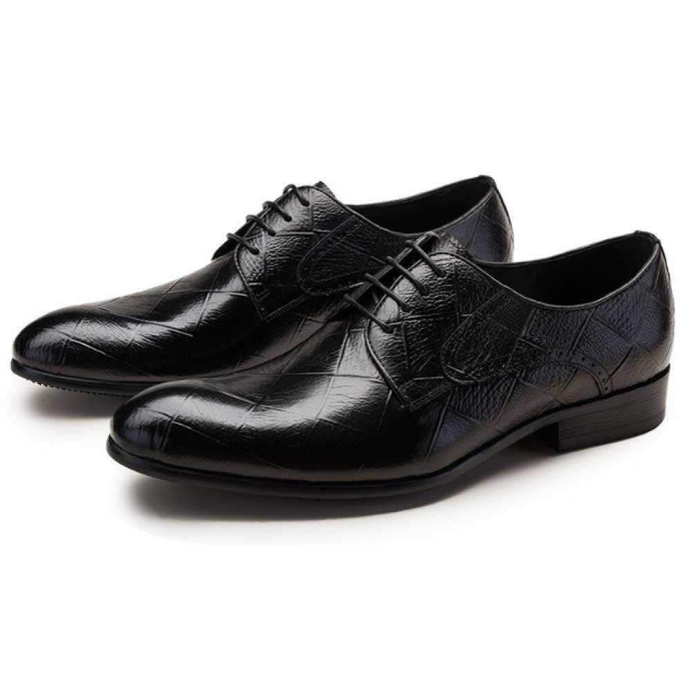 YCGCM Herrenschuhe Business Casual Tragbare Spitze British Pointed Bequeme Tragbare Casual Fashion schwarz 47cd5c