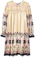 Anna Sui Women'S Blush Botanical Patchwork Dress
