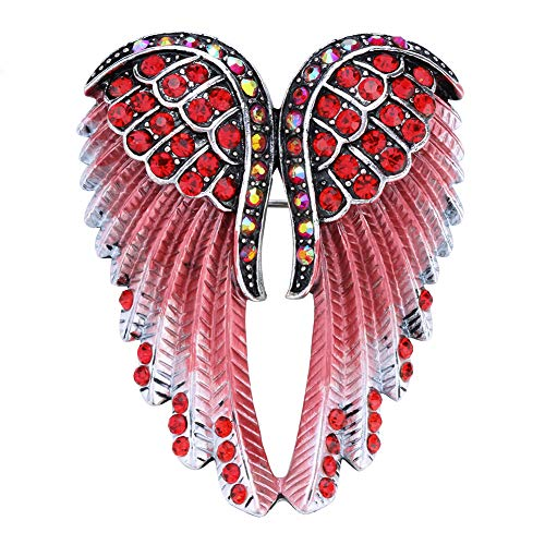 Hiddlston Crystal Guardian Angel Wing Jewelry Custom Brooch Pins For ()