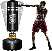 """Punching Bag, Arespark Punching Bag 68"""" Punching Bag with Stand, Up to 200lb Heavy Boxing Equipment with"""