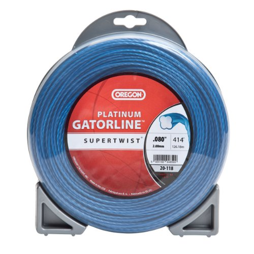 Oregon 20-118 Replacement 0.080 Platinum Gatorline String Trimmer Line, 414-Feet