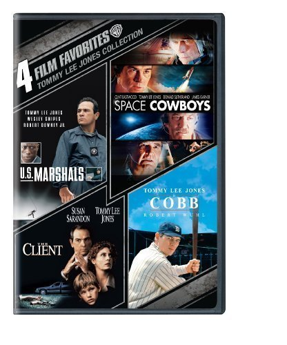 4 Film Favorites: Tommy Lee Jones (U.S. Marshals, The Client, Space Cowboys, Cobb) by Warner Home Video by Various