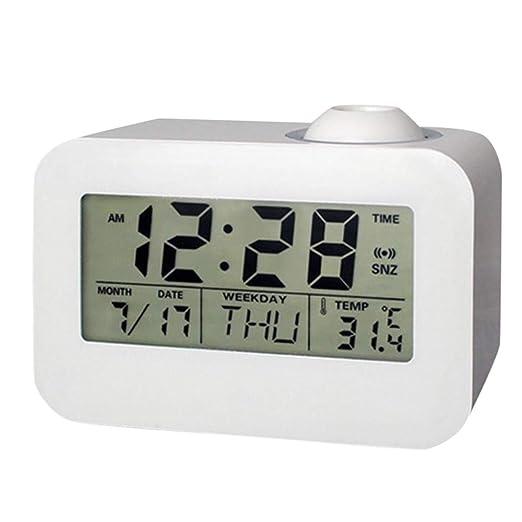 dongzhifeng Despertador Digital Relojes de Alarma Lado de la ...