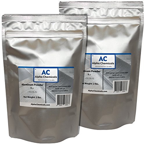 4 Pounds - Aluminum Powder - 5 micron