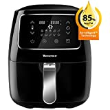 Air Fryer XL, Willsence Air Fryers 3.7-Quart 10-in-1 Intelligent Electric Oilless Hot Air-Fryer, Cooker with Cookbook and 50 Online Recipes, Touch Screen Control, Dishwasher Safe, Metal Inner Housing