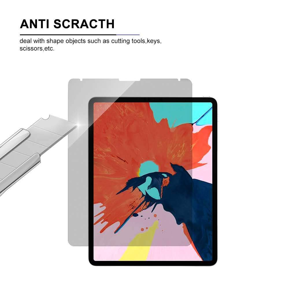[Updated Version] iPad Pro 12.9 Privacy Screen Protector, for Apple ipad pro 12.9(2018 Release) [Anti-Spy Filter ][Compatible Apple Pencil][Anti-Glare ] + Lifetime Replacement