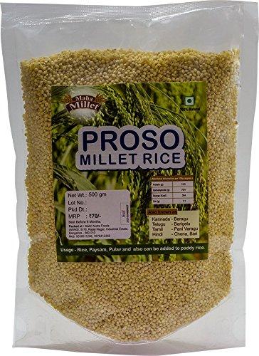 Proso Millet Rice improve your lipid profile