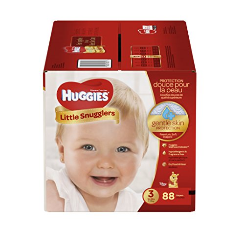 Kimberly-clark HUGGIES Little Snugglers Diapers, Super Pa...