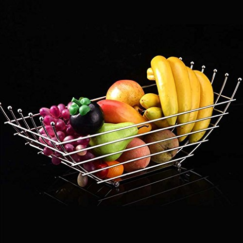 ZfgG Three Layer Basket Basket Fruit Cake Bread Basket Creative Living Basket Basket Fruits Vegetable