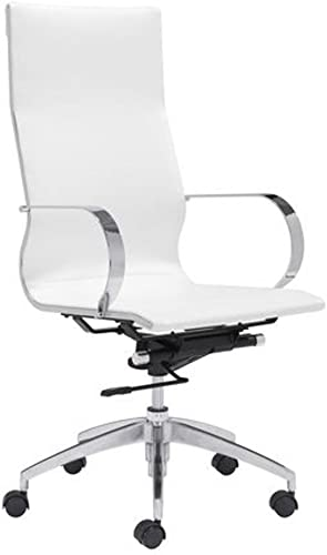 FineMod Modern Conference Office Chair High Back