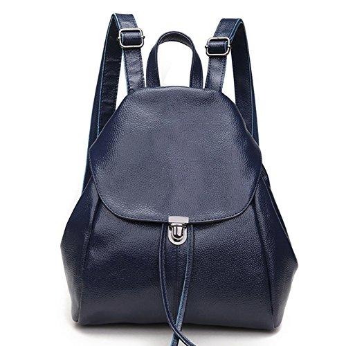 rg-collection-women-leather-drawstring-backpack-school-bag-travel-street-shoulderbag-handbag-navy