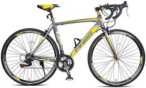 Merax Finiss Aluminum 21 Speed 700C Road Bike Racing Bicycle Shimano
