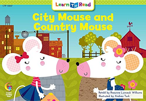 City Mouse and Country Mouse (Learn to Read) PDF