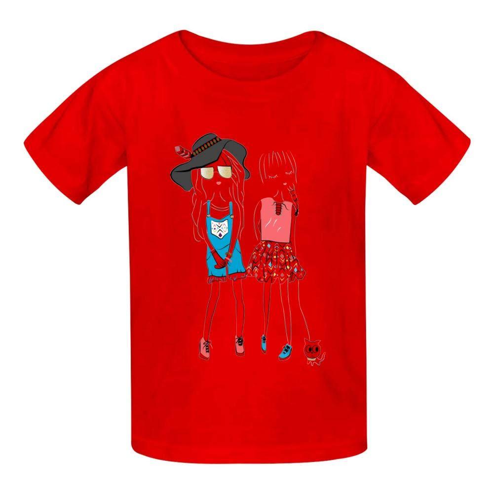 Belle Childrens Boy 100/% Cotton Print Short Sleeve T-Shirt