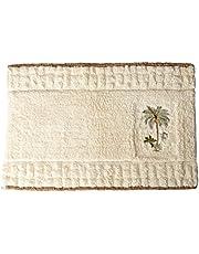 Avanti Linens Colony Palm, Bath Rug, Ivory