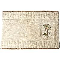 Avanti Linens 13668JIVR Colony Palm Rug, Medium, Ivory
