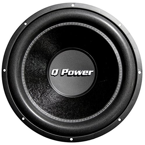 Q Power 12 Inch 3000 Watt Super Deluxe Subwoofer DVC Car Audio Sub | QP12-Super