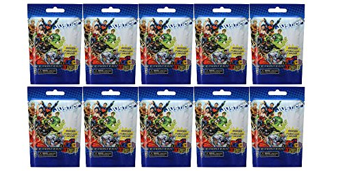 10 (Ten) Boosters Packs of DC Comics Dice Masters: Justice League Dice Building Game (10 Random Booster Packs) (Justice League Dice)