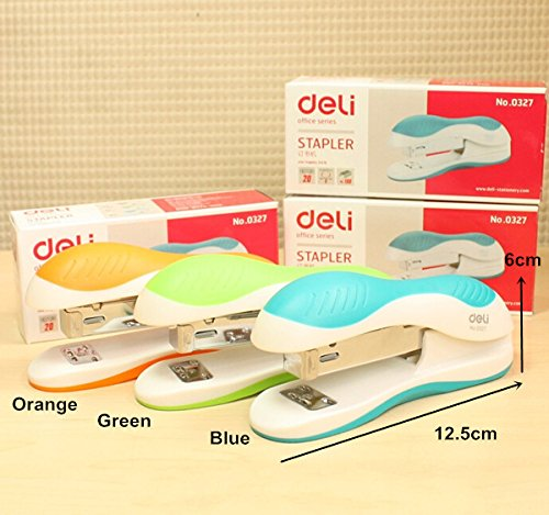 Stapler Stationary 6 pcs/Lot Office School Material Metal Size Mini Classic Design Safe And Healty