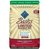 Blue Basics Limited Ingredient Diet Adult Grain Free Salmon & Potato Dry Dog Food 22-Lb