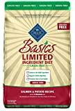 Blue Basics Limited Ingredient Diet Adult Grain Free Salmon & Potato Dry Dog Food 22-Lb For Sale
