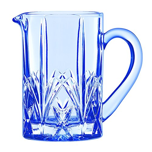 Marquis by Waterford Brookside Pastel Pitcher, Blue