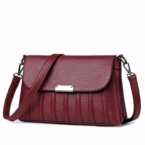Cruzada una Bag Esta Bandolera Presenta Nueva roja CCZUIML Bolsa rojo 1wB0qPpWHw