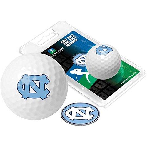North Carolinaゴルフボール1パックwithマーカー B01M69BIJB