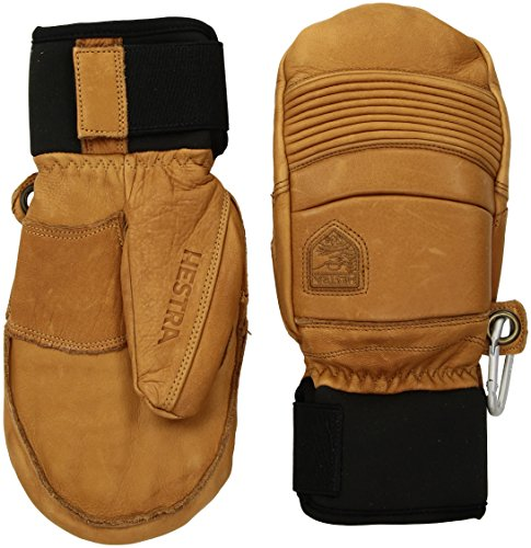 Hestra Mens Ski Gloves: Fall Line Winter Cold Weather Leather Mittens