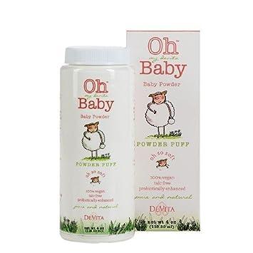 Amazon.com: Oh My Devita Baby borla Talc Free Baby Powder ...