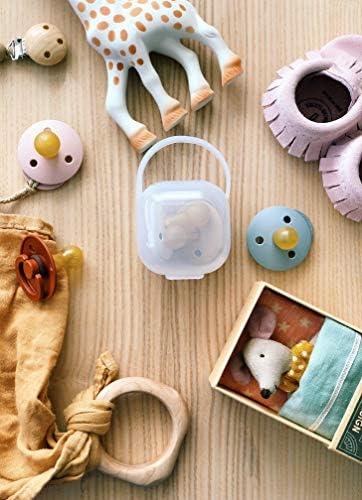 sans BPA ni BPS lot de 3 Con/çu pour le Confort dans la Bouche du B/éb/é purifyou Premium Nipple Shield Transparent, 24mm Non Toxique