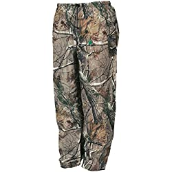 Frogg Toggs Pro Action Water-Resistant Rain Pant, Realtree Xtra, Size Medium