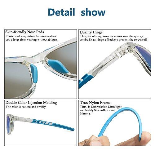 97efe2d0d5 JOJEN Polarized Sports Sunglasses for men women Baseball Running Cycling  Fishing Golf Tr90 ultralight Frame JE001